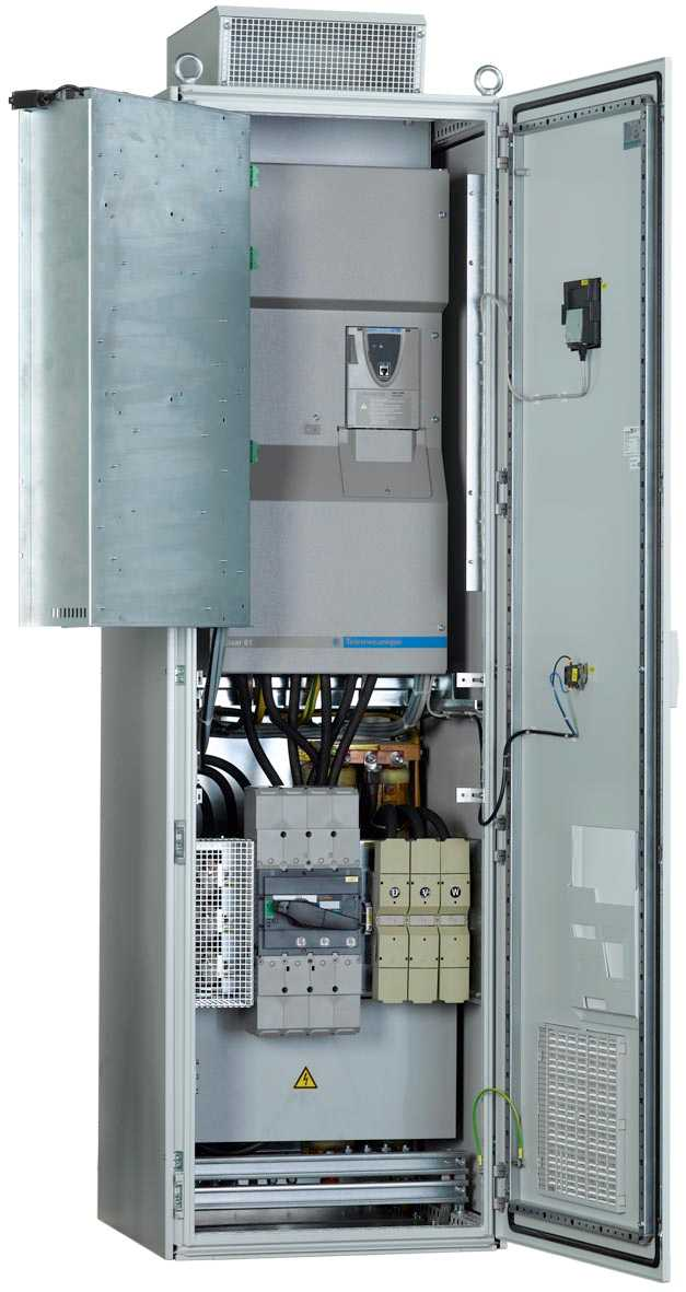 The new IP54 ready assembled VSD enclosure from